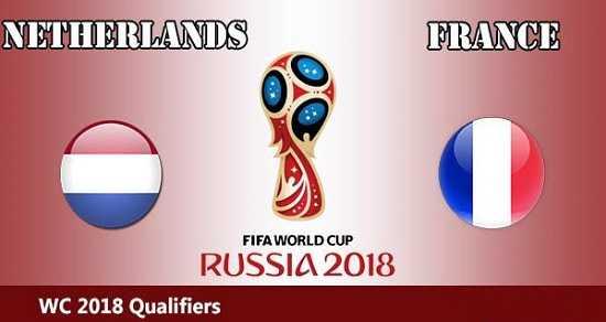 Link Sopcast, link xem trực tiếp Pháp vs Hà Lan vòng loại World Cup 1/9/2017