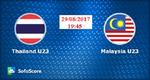 Link trực tiếp U23 Malaysia vs U23 Thái Lan ngày 29/8/2017