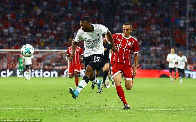 Bayern Munich tiếp tục gây thất vọng lớn với thất bại 0-3 trước Liverpool