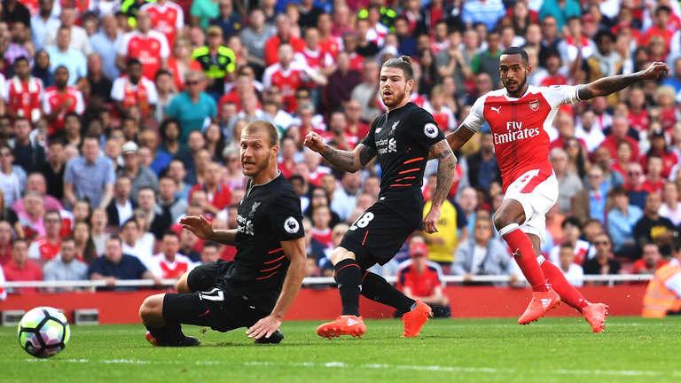Liverpool vs Arsenal ngày 27/8/2017 giải Ngoại Hạng Anh