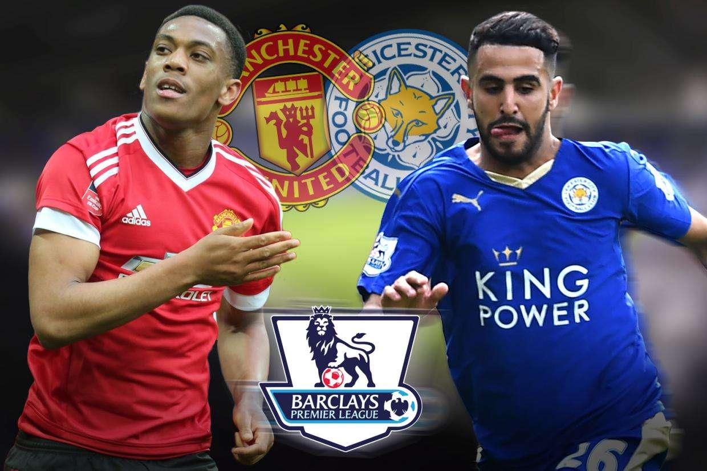 M.U vs Leicester