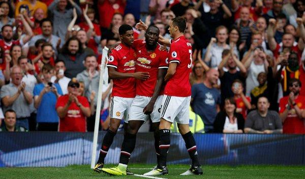 Matic, Lukaku và Rashford, ba cầu thủ nổi bật của Man Utd hôm nay.