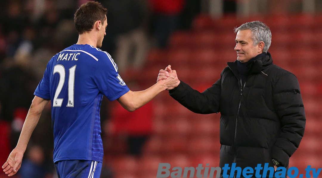 Mourinho cám ơn Matic vì tiền vệ này đã chọn MU