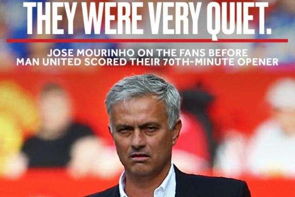 Mourinho trách fan thiếu nhiệt tại Nhà hát của giấc mơ
