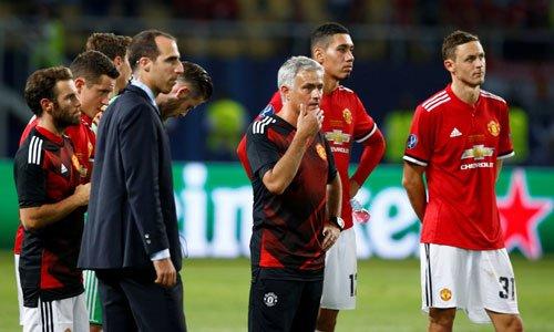 Mourinho háo hứctrước mùa giải mới.
