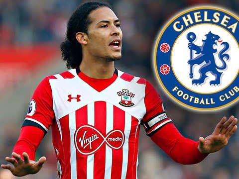 Chelsea chi 50 triệu bảng theo đuổi Van Dijk