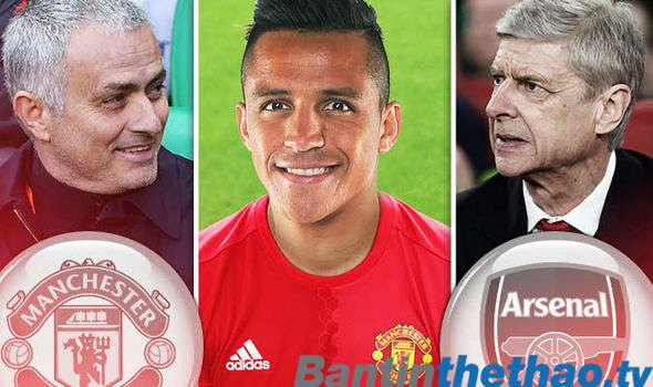 MU rộng cửa mang Sanchez về Old Trafford