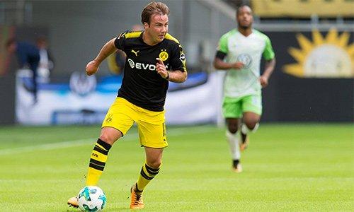 Gotze toả sáng ngay trận cầu chính thức đầu tiên anh được hiện diện cùng Dortmund sau sáu tháng nghỉ dưỡng bệnh.