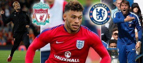Chamberlain phớt Chelsea để cập bến Liverpool