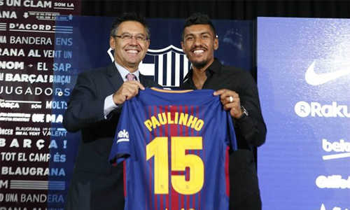 Lý giải của chủ tịch của Barca về việc mua Paulinho