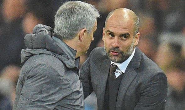 """Pep Guardiola """"buông"""" derby với MU vì Liverpool, Mourinho không dám dọa Man City"""