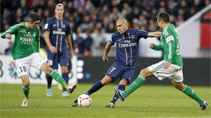 PSG vs Saint-Étienne ngày 26/8/2017 giải vô địch Ligue 1