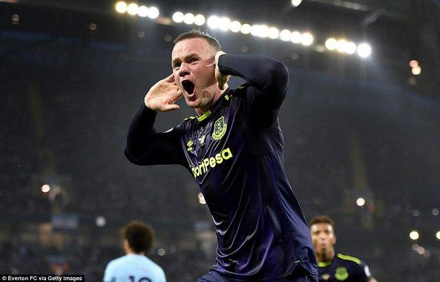 Rooney có bàn thắng thứ 200 tại Premier League