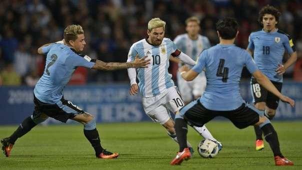 Uruguay vs Argentina vòng loại World Cup 1/9/2017