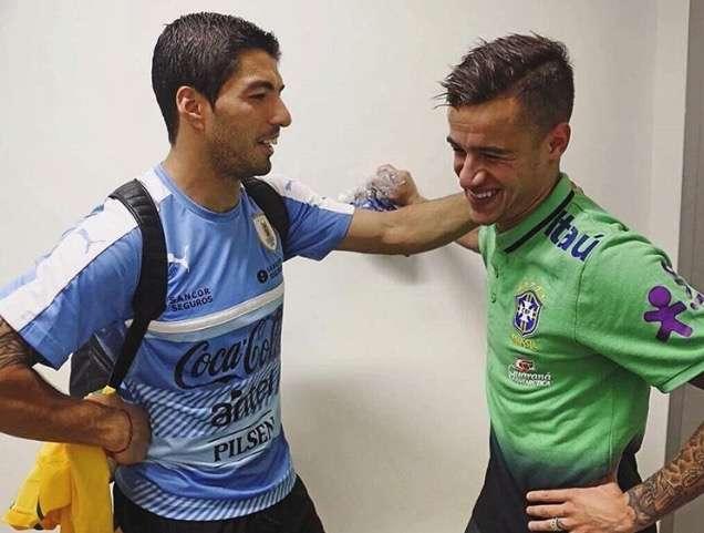 Suarez chơi ăn ý với Coutinho