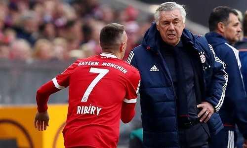 Năm cầu thủ Bayern khiến Ancelotti bị mất ghế HLV