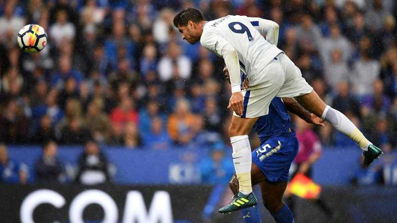 Morata tiếp lửa, Chelsea hạ  gục Leicester