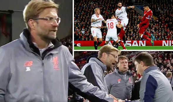 Roy Keane chê Liverpool quá kém cỏi, Klopp nổi tam bành trận hòa 2-2 với Sevilla
