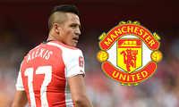 """""""Quỷ đỏ"""" tung chiêu độc, cướp Alexis Sanchez trước mũi Man City"""