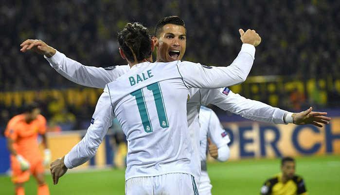 Ngôi sao rực sáng, Real hạ gục Dortmund trên sân khách