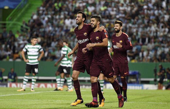 Barca có được 6 điểm sau 2 lượt trận