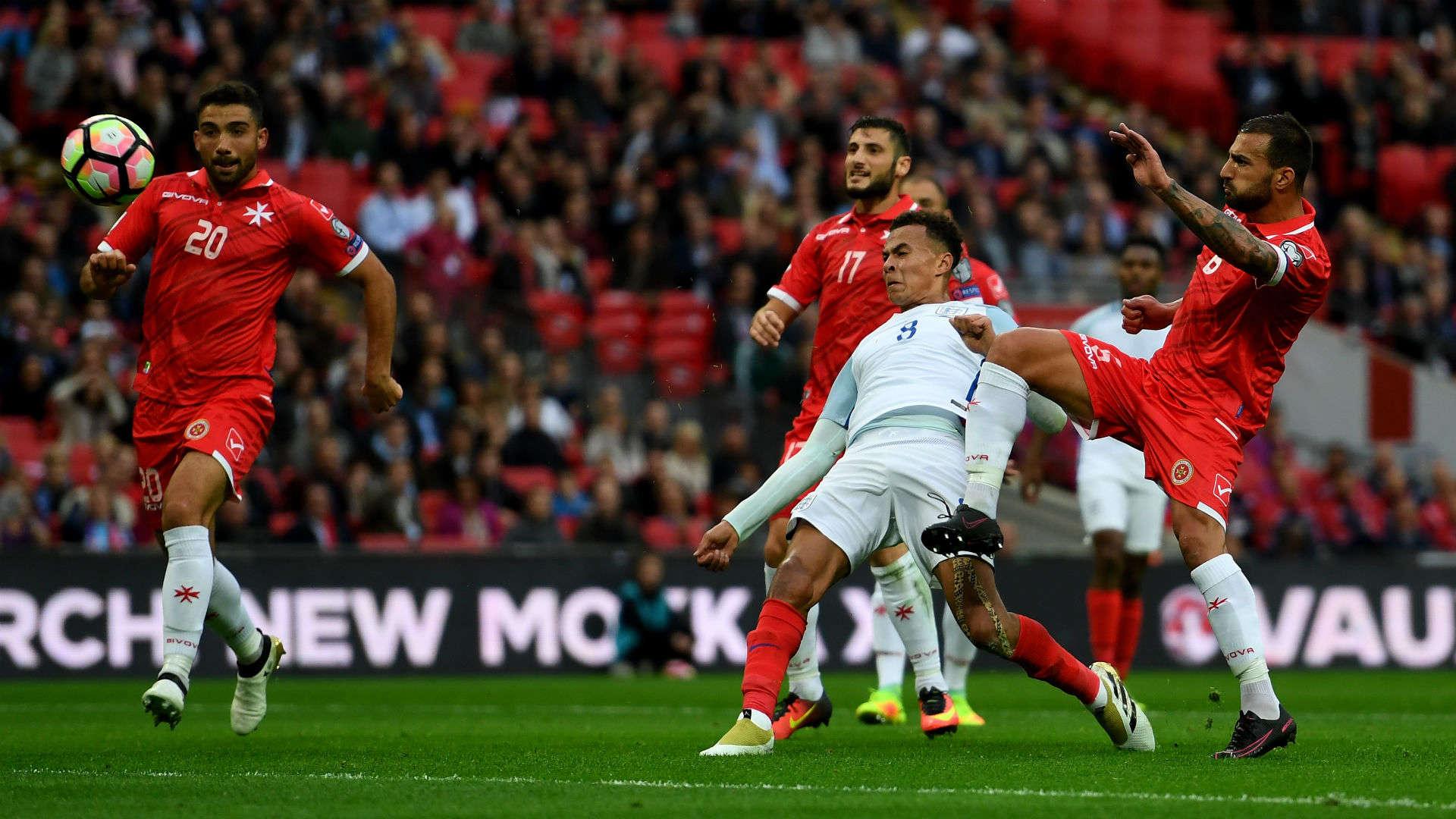 Trận lượt đi giữa Anh và Malta