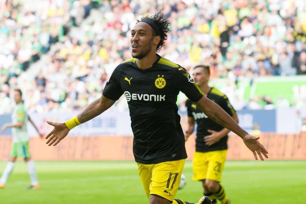 Tiền đạo Aubameyang của Dortmund