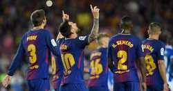 Messi chói sáng, Barca đại thắng trên Nou Camp