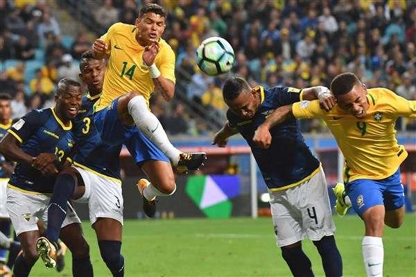 Brazil từng thắng Colombia ở lượt đi
