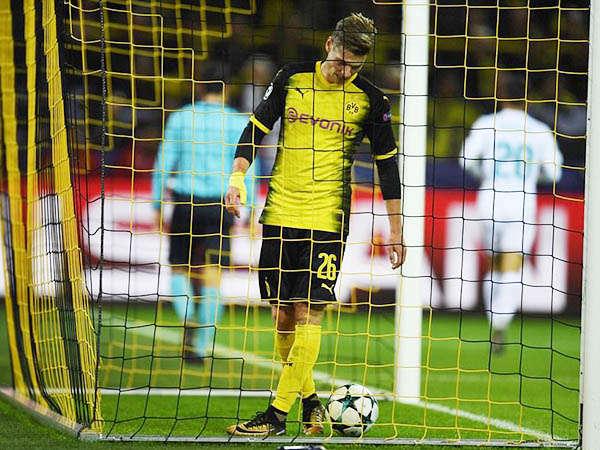 Dortmund đã gây rất nhiều thất vọng