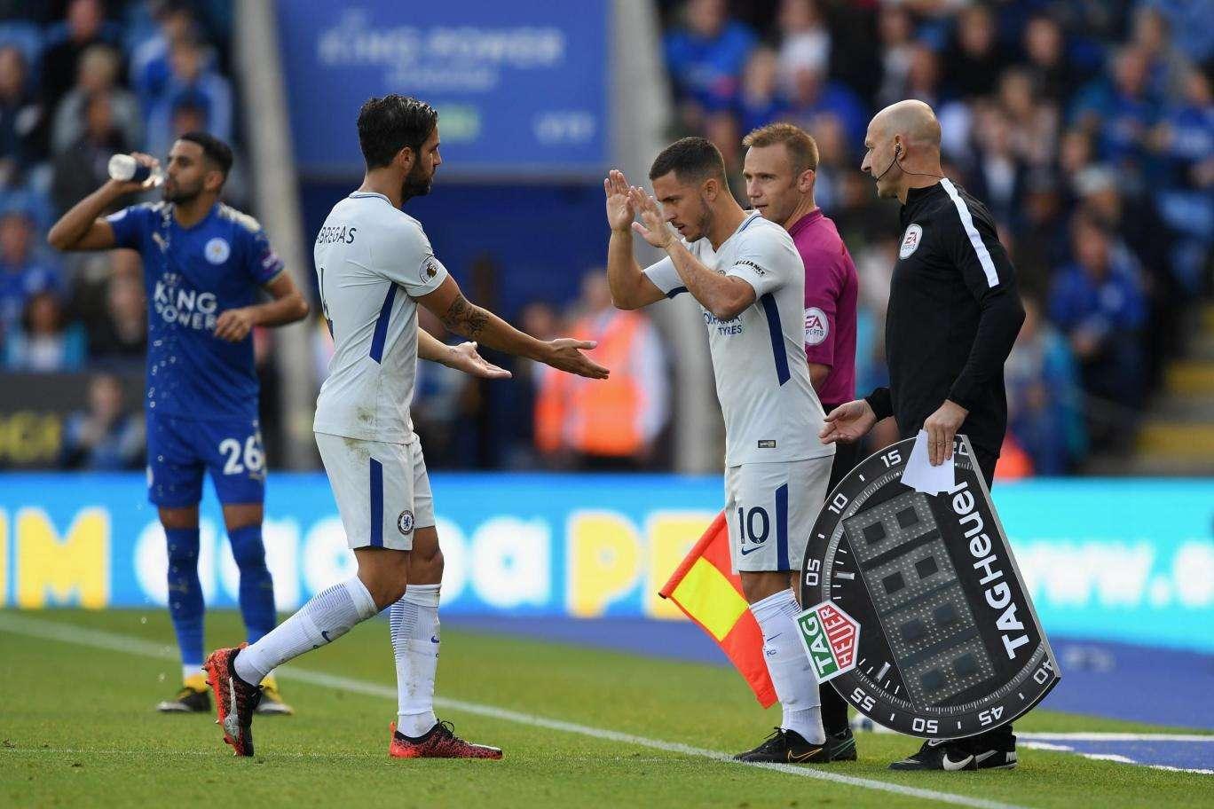 Eden Hazard đã thi đấu trở lại