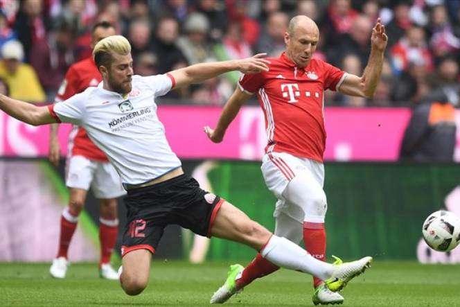 Mainz 05 tỏ ra không hề run sợ khi làm khách tại Allianz Arena
