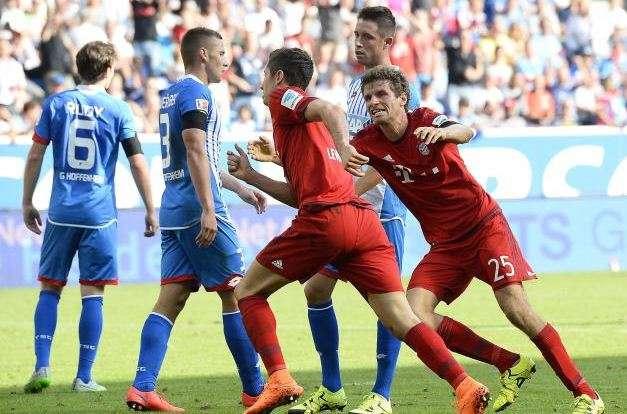 Mùa trước Bayern không thể đánh bại Hoffenheim trong 2 lần chạm trán