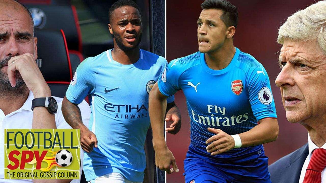 Arsenal sẵn sàng đổi Sterling lấy Alexis Sanchez