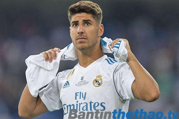 Asensio đang rất hạnh phúc ở Real Madrid
