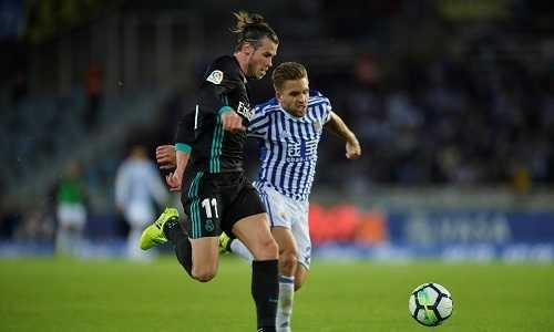 """Bale đạt vận tốc """"khủng"""" khi ghi bàn vào lưới Sociedad"""