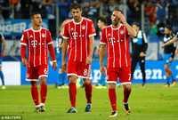 Bayern thua sấp mặt khi cần chạy đà cho C1
