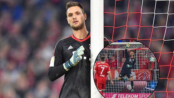 Vắng Neuer, Bayern quá dễ tổn thương