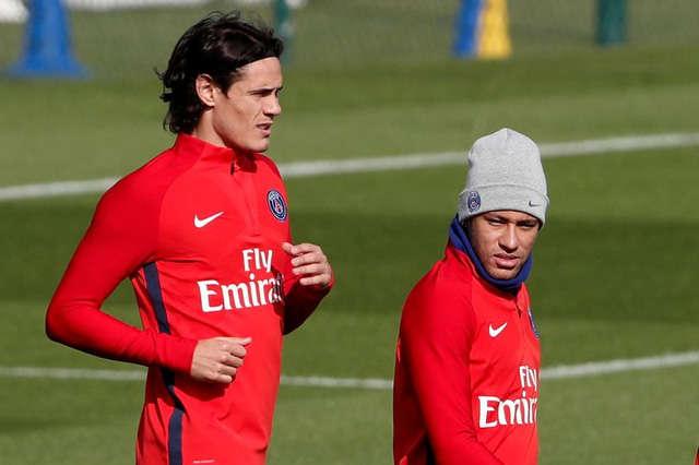 Cavani và Neymar kèn cựa nhau vị trí số 1 ở PSG