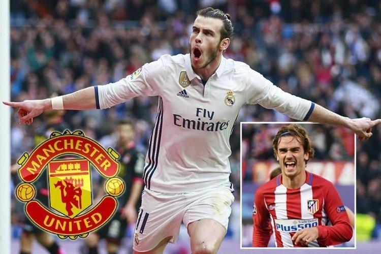 Man United muốn có Bale và Griezmann