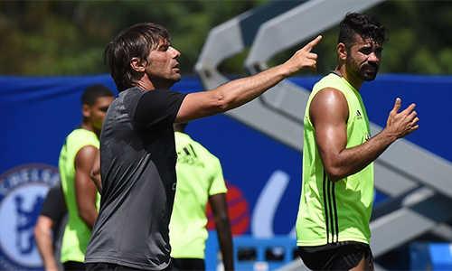 Costa vẫn nằm trong danh sách dự NHA của Chelsea