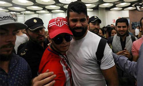 Diego Costa mãn nguyện vì được về mái nhà xưa Atletico Madrid