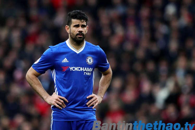 Diego Costa không phải là mẫu tiền đạo hoàn hảo