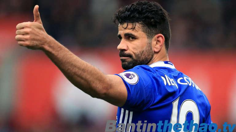Diego Costa vẫn chưa quay trở lại London