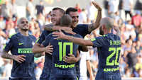 Chiến thắng nhẹ nhàng, Inter tạm chiếm ngôi đầu