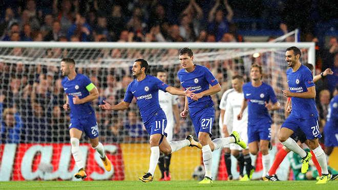 Chelsea chiến thắng với tỷ số của một set tennis trước Qarabag