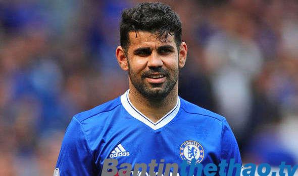 Diego Costa đã nói lời chia tay với Chelsea
