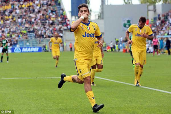 Dybala đã tỏa sáng, Juventus toàn thắng cả 4 trận ở Serie A