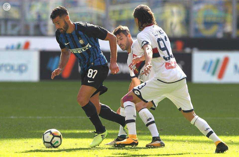 Sao lạ tỏa sáng, Inter dành chiến thắng tối thiểu trước Genoa