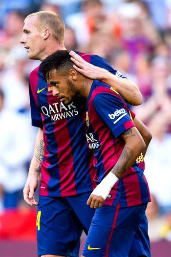 Mathieu và Neymar đều rời Barca trong kỳ chuyển nhượng hè năm nay